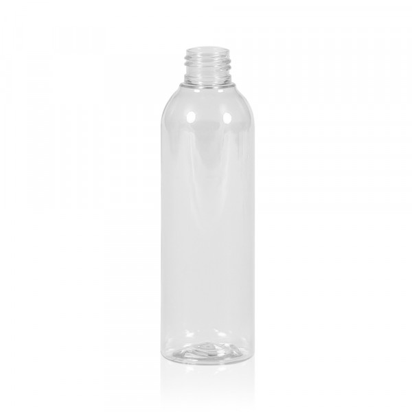 200 ml bottle Basic Round PET transparent 24.410