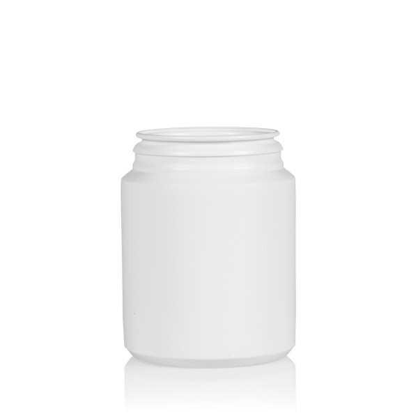 200 ml Pharma cylinder HDPE white