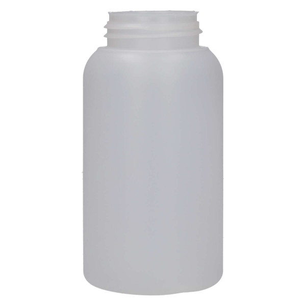 250 ml bottle Compact round HDPE natural 567