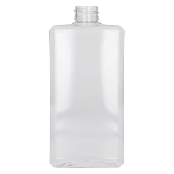 500 ml bottle Basic Rectangle PET Transparent