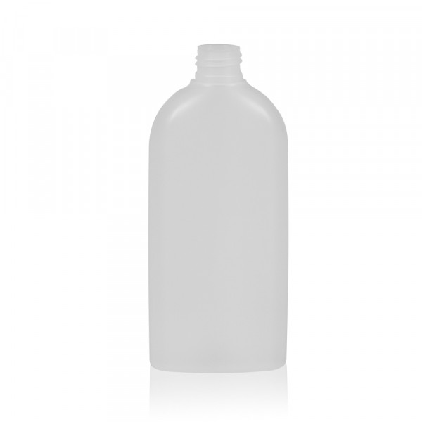 250 ml bottle Basic Oval HDPE natural 24.410
