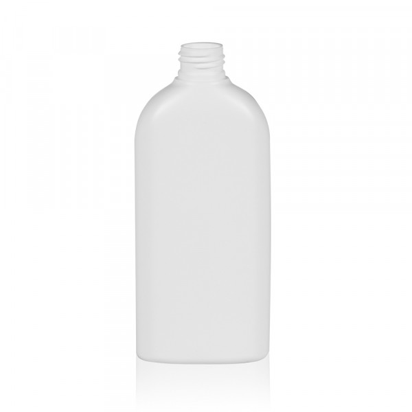 250 ml bottle Basic Oval HDPE white 24.410