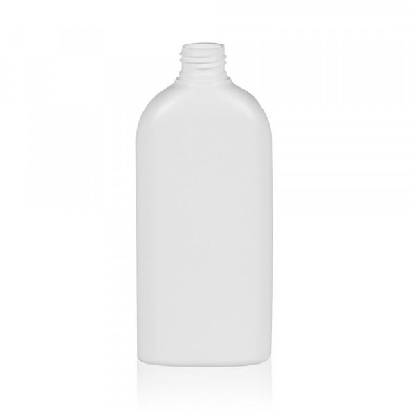 250 ml bottle Basic Oval HDPE white 24.410