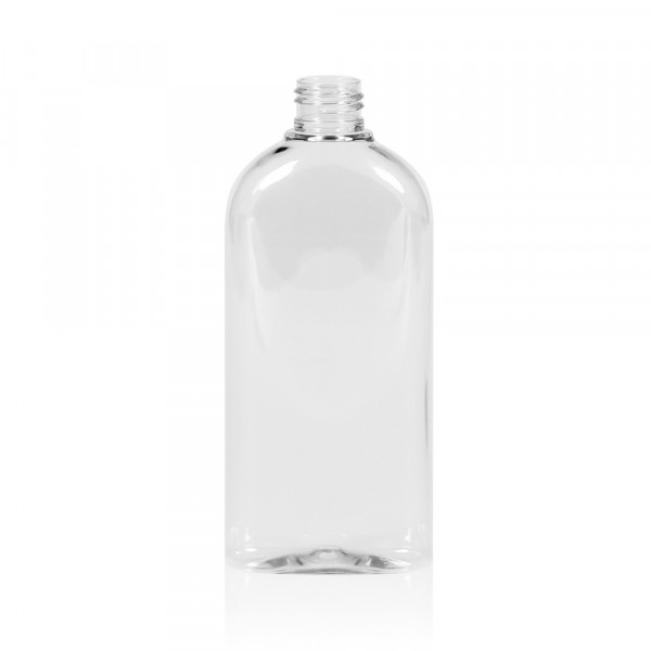 250 ml bottle Basic Oval PET transparent 24.410
