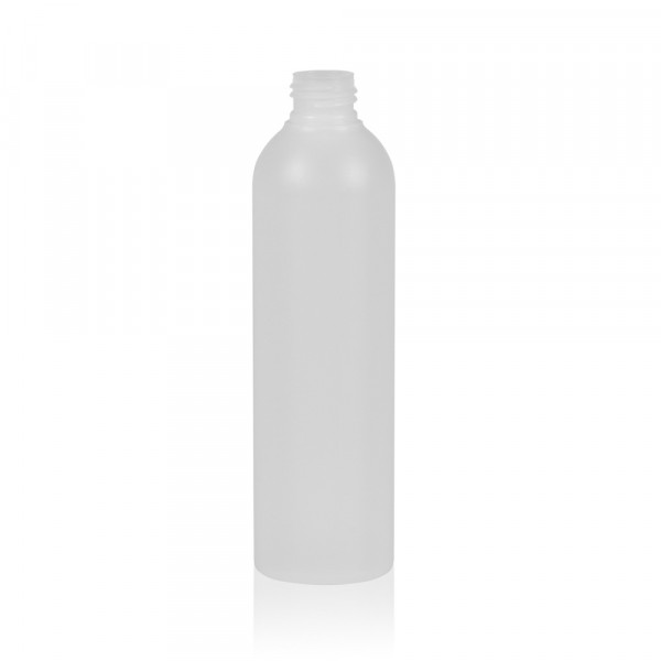 250 ml bottle Basic Round HDPE natural 24.410