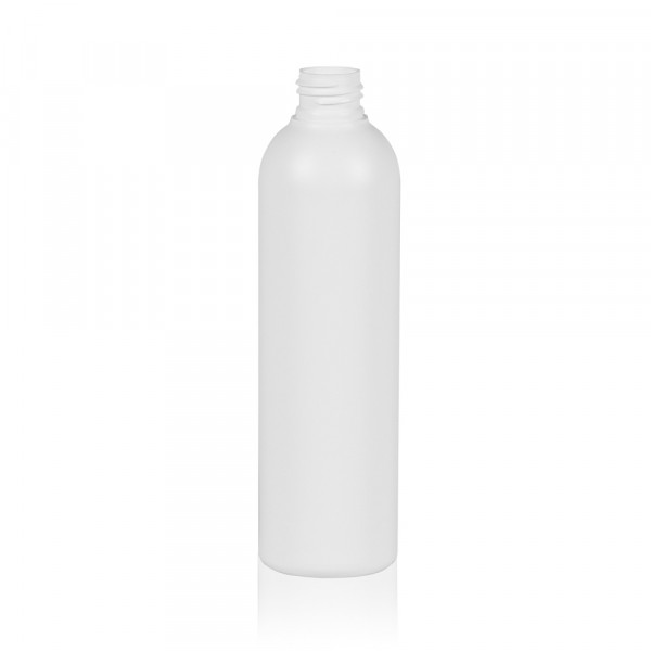250 ml bottle Basic Round HDPE white 24.410