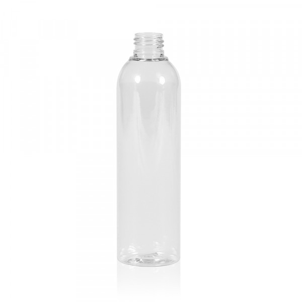 250 ml bottle Basic Round PET transparent 24.410