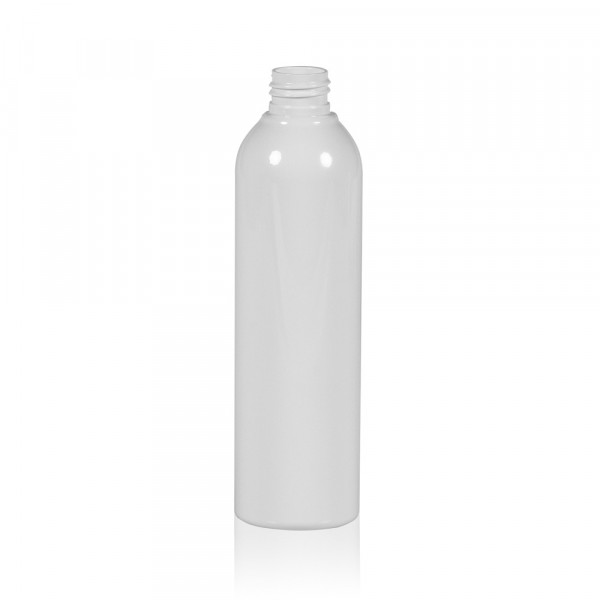 250 ml bottle Basic Round PET white 24.410