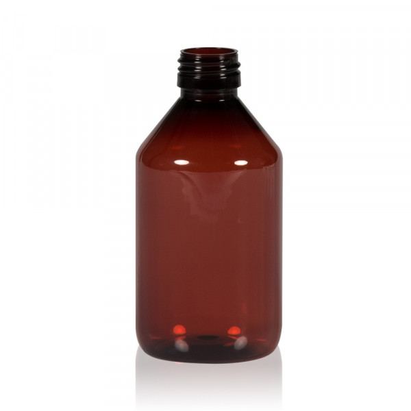 250 ml bottle Pharma PET brown 28.410
