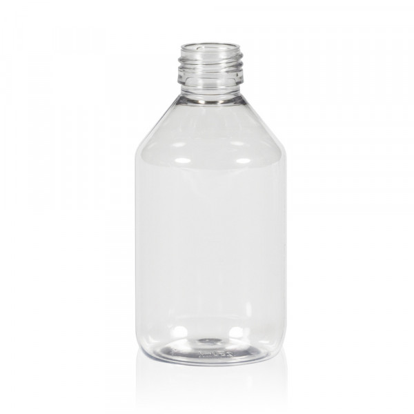 250 ml bottle Pharma PET transparent 28.410