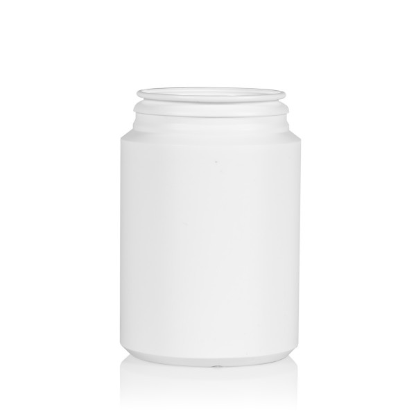 250 ml Pharma cylinder HDPE white