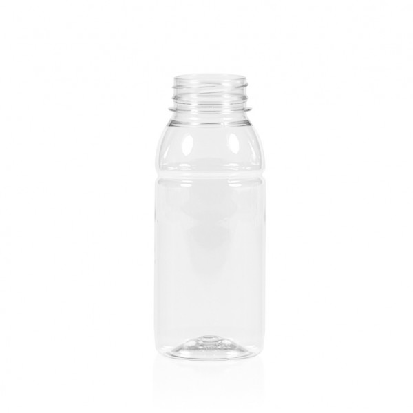 250 ml juice bottle Smoothie PET transparent