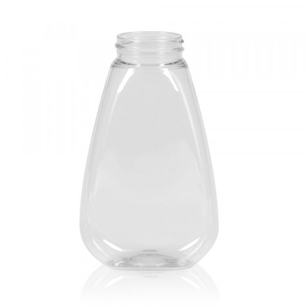 250 ml squeeze bottle Sauce oval PET transparent 38.400
