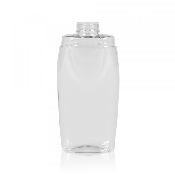 250 ml squeeze bottle Honey PET transparent