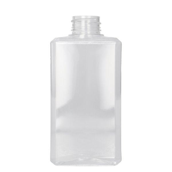 250 ml bottle Basic Rectangle PET Transparent