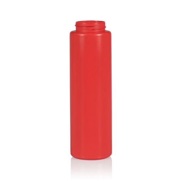 250 ml bottle Sauce Round MIX LDPE/HDPE red 38.400