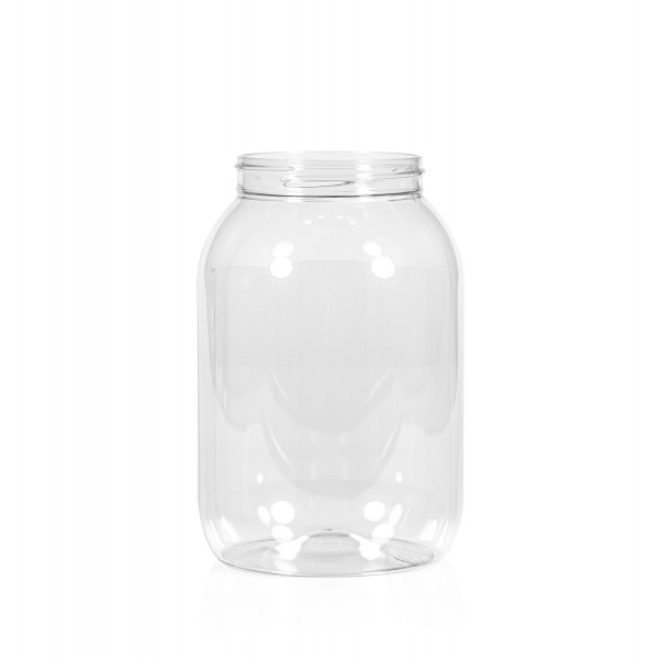 2500 ml Big clear PET transparent