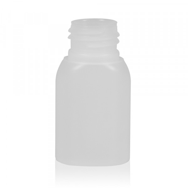 30 ml bottle Basic Oval HDPE natural 24.410