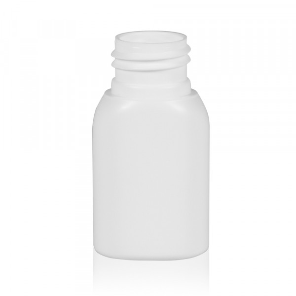 30 ml bottle Basic Oval HDPE white 24.410