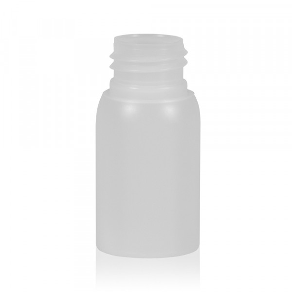 30 ml bottle Basic Round HDPE natural 24.410