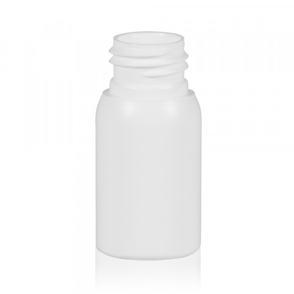 30 ml bottle Basic Round HDPE white 24.410