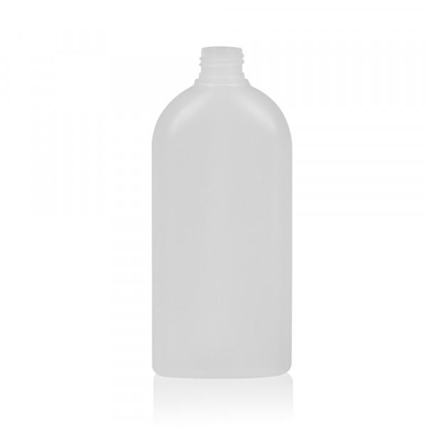300 ml bottle Basic Oval HDPE natural 24.410