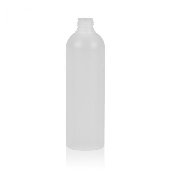 300 ml bottle Basic Round HDPE natural 24.410