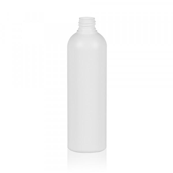 300 ml bottle Basic Round HDPE white 24.410