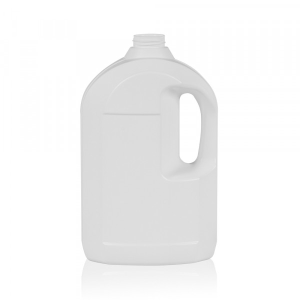 3000 ml bottle Multi HDPE white 567