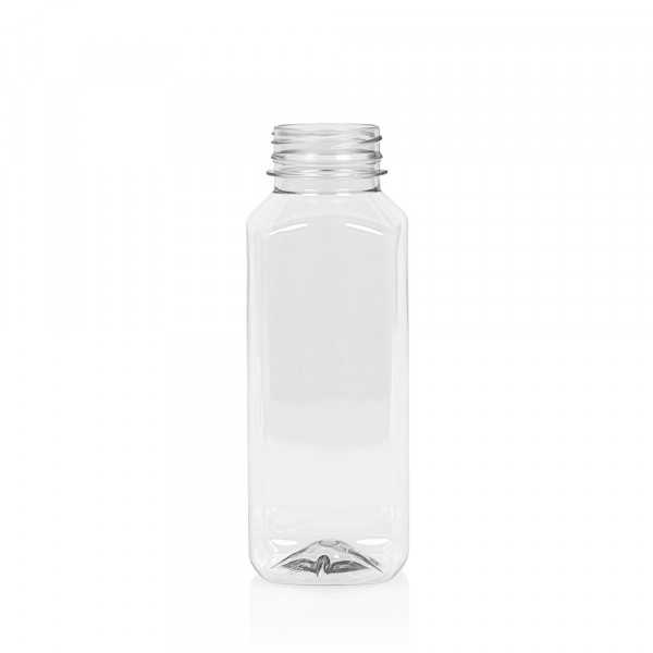 330 ml juice bottle Juice Square PET transparent