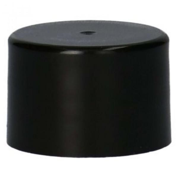 Smooth Screwcap PP Black 28.410
