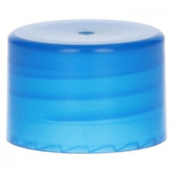 Smooth Screwcap PP Blue 28.410
