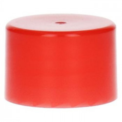 Smooth Screwcap PP Red 28.410