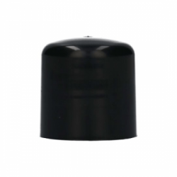 Screwcap PP Recycled black 24.410