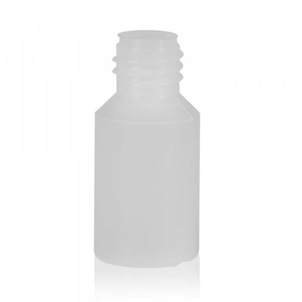 5 ml bottle Mini Round HDPE-LDPE natural