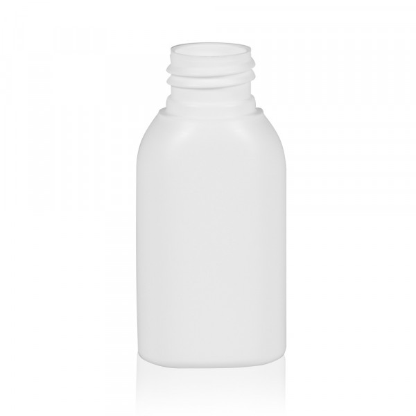 50 ml bottle Basic Oval HDPE white 24.410