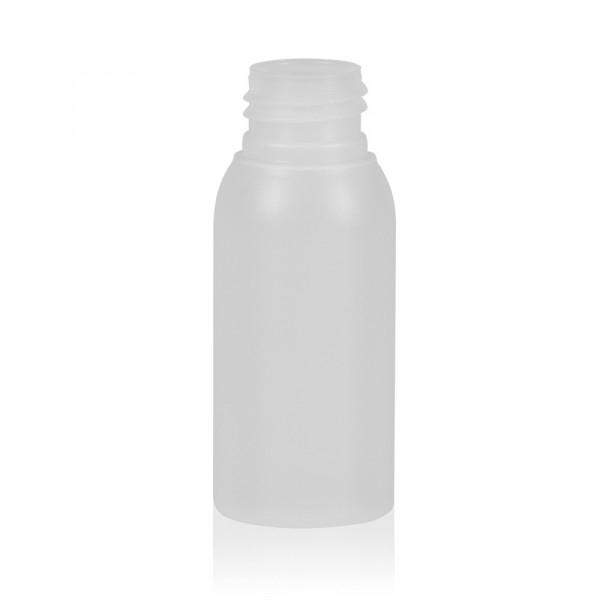50 ml bottle Basic Round HDPE natural 24.410