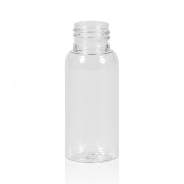 50 ml bottle Basic Round PET transparent 24.410