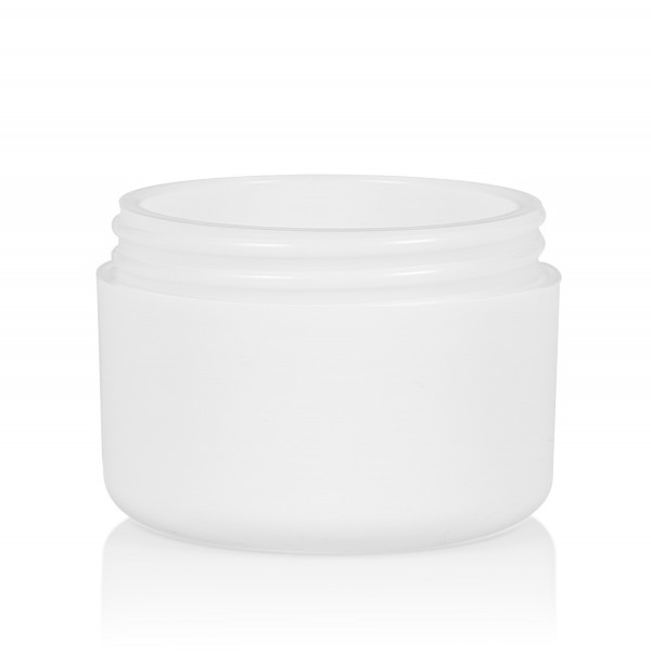 50 ml Frosted soft PP white double-walled