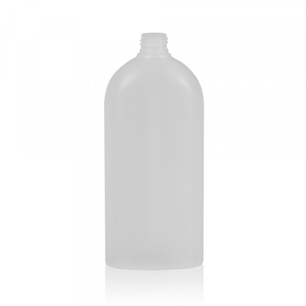 500 ml bottle Basic Oval HDPE natural 24.410