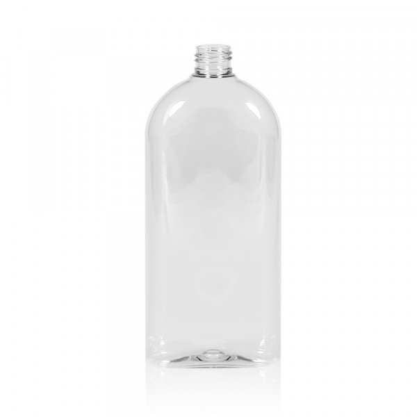 500 ml bottle Basic Oval PET transparent 24.410