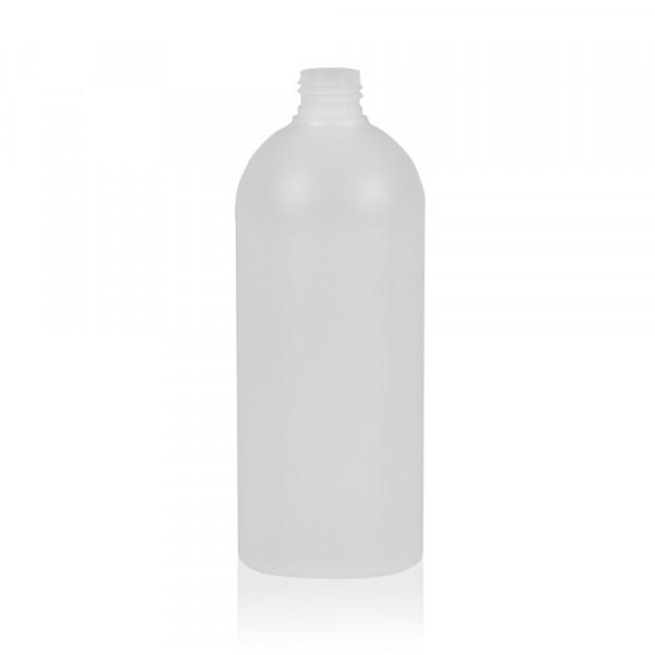 500 ml bottle Basic Round HDPE natural 24.410