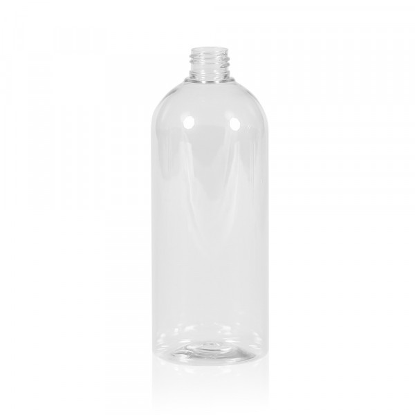 500 ml bottle Basic Round PET transparent 24.410