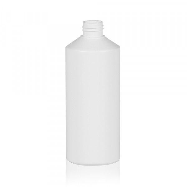500 ml bottle Combi HDPE white 28.410