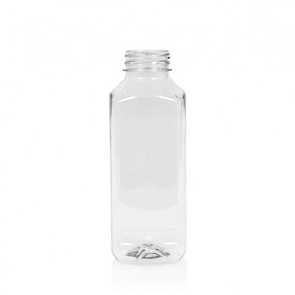 500 ml juice bottle Juice Square PET transparent