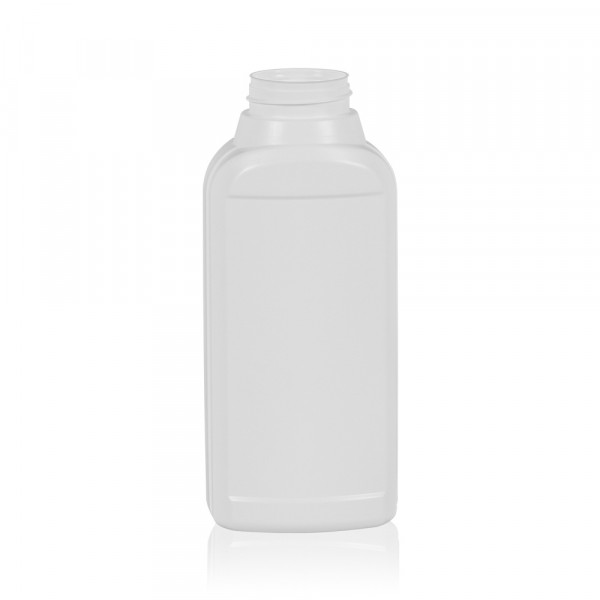 500 ml bottle Multi HDPE white 567
