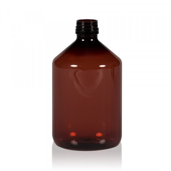 500 ml bottle Pharma PET brown 28.410