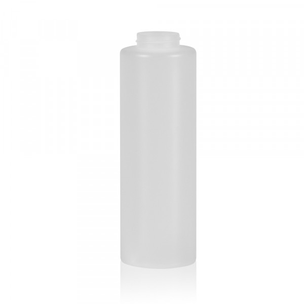 500 ml squeeze bottle Sauce round MIX LDPE-HDPE natural 38.400