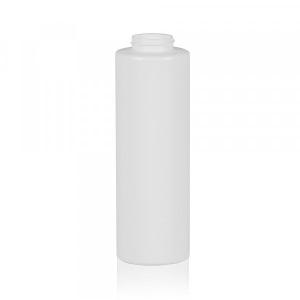 500 ml squeeze bottle Sauce round MIX LDPE-HDPE white 38.400