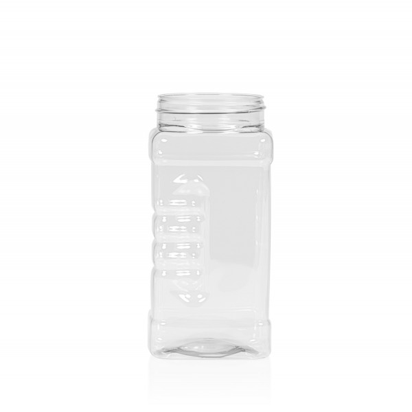 500 ml Spice square PET transparent
